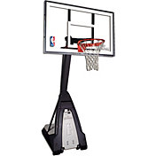Spalding Beast 60' Glass Portable Basketball Hoop
