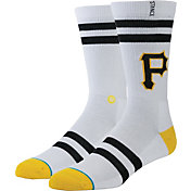 Stance Pittsburgh Pirates White Team-Colored Socks