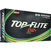 Top Flite D2+ Feel Golf Balls – 15 Pack