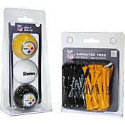 Team Golf Pittsburgh Steelers 3 Ball/50 Tee Combo Gift Pack