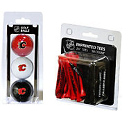 Team Golf Calgary Flames 3 Ball/50 Tee Combo Gift Pack