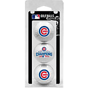 Team Golf 2016 World Series Champions Chicago Cubs 3-Pack Golf Balls