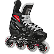 TOUR Hockey Youth Fish BoneLite 225 Adjustable Roller Hockey Skates