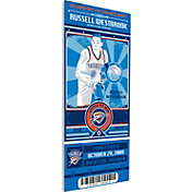 That's My Ticket Oklahoma City Thunder Russell Westbrook Artist Series Canvas Ticket
