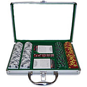 Trademark Poker 200 Tri Color Suited Chip Poker Set and Case