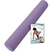 STOTT PILATES Foam Roller with Pilates DVD