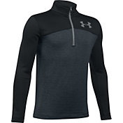 Under Armour Boys' Storm Armour Fleece Expanse Quarter-Zip Jacket
