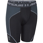 Under Armour Boys' Spacer Performance Sliding Shorts