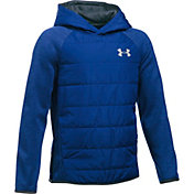 Under Armour Boys' Storm Insulated Pullover Swacket Jacket