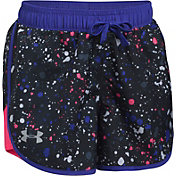 Under Armour Girls' Fast Lane Novelty Printed Shorts