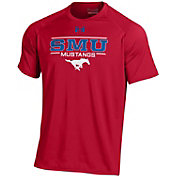 Under Armour Men's Southern Methodist Mustangs Red Tech Performance T-Shirt