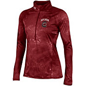 Under Armour Women's South Carolina Gamecocks Garnet Fusion UA Tech Half-Zip Shirt