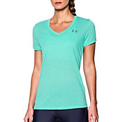 Under Armour Women's Threadborne Train Twist Print V-Neck T-Shirt