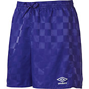 Umbro Youth Rio Check Shorts