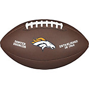 Wilson Denver Broncos Composite Official-Size Football
