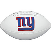 Wilson New York Giants Autograph Official-Size Football