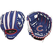 "Wilson 10"" A200 Chicago Cubs T-Ball Glove"