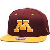 Zephyr Men's Minnesota Golden Gophers Maroon/Gold Z11 Snapback Hat