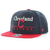 '47 Men's Cleveland Indians Rosemont Captain Adjustable Snapback Hat