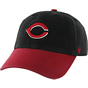 '47 Men's Cincinnati Reds Cooperstown Clean Up Black Adjustable Hat