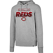 '47 Men's Cincinnati Reds Headline Grey Pullover Hoodie