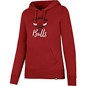 '47 Women's Chicago Bulls Red Pullover Hoodie