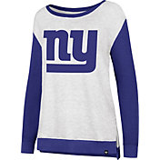 '47 Women's New York Giants Kayla Crew Neck Sweater