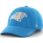 '47 Women's Carolina Panthers Sparkle Clean Up Blue Adjustable Hat