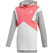 adidas Originals Girls' French Terry Hoodie