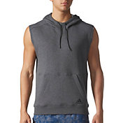 adidas Men's Essentials French Terry Sleeveless Hoodie