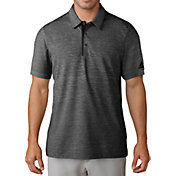 adidas Men's Gradient Heather Jersey Golf Polo