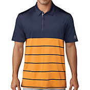 adidas Men's Ultimate365 Heather Stripe Golf Polo