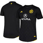 adidas Men's Columbus Crew Secondary Authentic Jersey