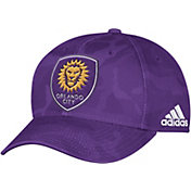 adidas Men's Orlando City Camo Structured Adjustable Hat