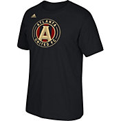adidas Men's Atlanta United Logo Black T-Shirt