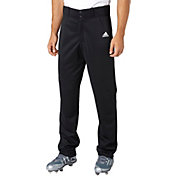 adidas Men's Triple Stripe Open Bottom Baseball Pants