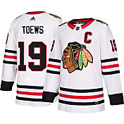 adidas Men's Chicago Blackhawks Jonathan Toews #20 Authentic Pro Away Jersey