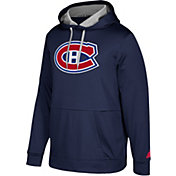 adidas Men's Montreal Canadiens Navy Performance Pullover Hoodie