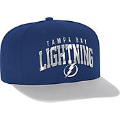 adidas Men's Tampa Bay Lightning Flat Brim Royal Snapback Adjustable Hat