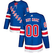 adidas Men's Custom New York Rangers Authentic Pro Home Jersey