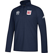 adidas Men's 2018 Winter Classic New York Rangers Ultimate Performance  Quarter-Zip Pullover