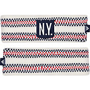 adidas Women's 2018 Winter Classic New York Rangers Knit Headband