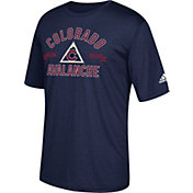 adidas Men's Colorado Avalanche Misconduct Performance Navy T-Shirt