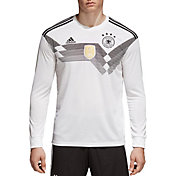 adidas Men's Germany Replica Home White Long Sleeve Stadium Jersey