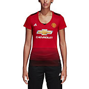adidas Women's Manchester United 2018 Stadium Home Replica Jersey