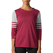 adidas Women's Jersey 3/4 Sleeve Shirt