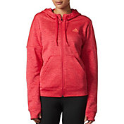adidas Women's Team Issue Fleece Full Zip Hoodie