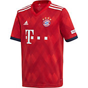 adidas Youth Bayern Munich 2018 Stadium Home Replica Jersey