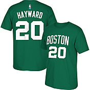 adidas Youth Boston Celtics Gordon Hayward #20 Kelly Green T-Shirt