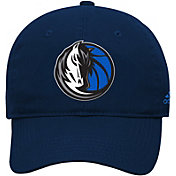 adidas Youth Dallas Mavericks Adjustable Slouch Hat
